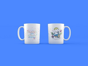 I will design a creative coffee mug, coffee cup based on your idea
