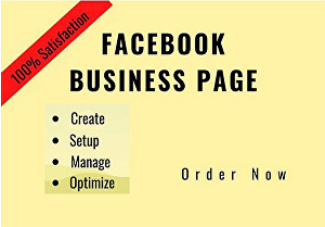 I will Create a Facebook Business Page for any company