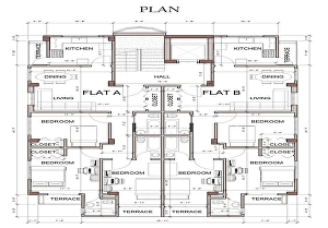 I will create autocad 2d floor plan,elevations and site plans