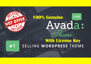 I will provide Wordpress Avada Theme