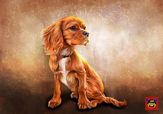draw a Professional pet oil painting for you