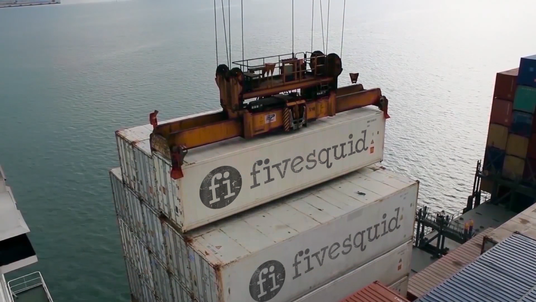 make this container video for your logo