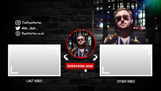 Design Stunning Youtube End Card End Screen Outro In 24 Hours