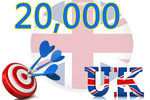 I will Give you 20,000 UK Website Traffic