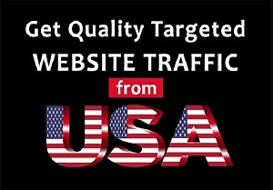 I will drive unlimited traffic from USA to your site,blog  or product