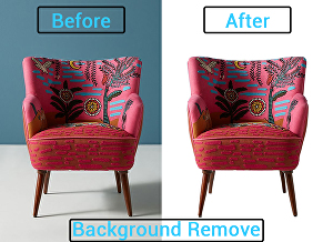 I will do 100 images background removal