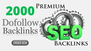 I will Create 2000 Powerful High PR Dofollow Backlinks To Boost Website Rankings