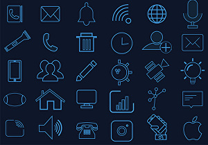 I will create awesome flat icon set and icons design for you