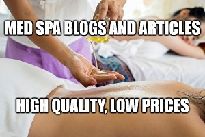 I will write med spa blogs and articles