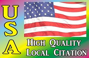 I will add your business in top 350 USA local citations