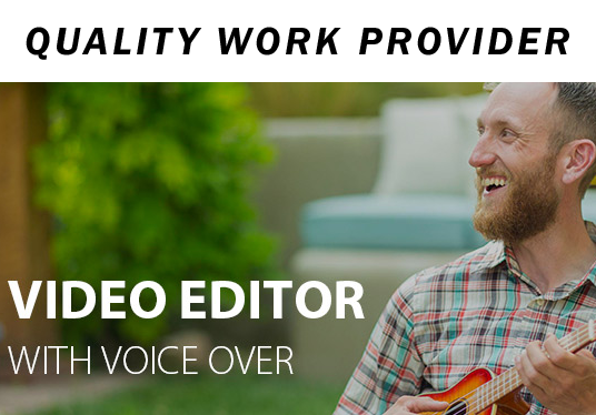 edit your video and do Voice-Over