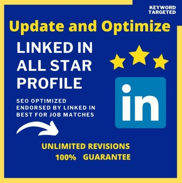 optimize your entire linkedin profile