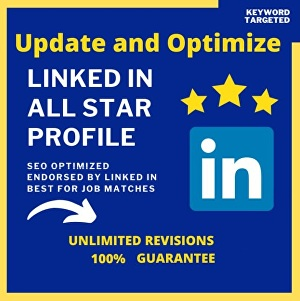 I will optimize your entire linkedin profile