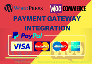 I will integrate payment gateway into wordpress website