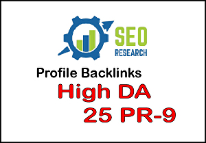 I will Do manually DA 80 all pr9 10 safe Seo high profile Backlinks