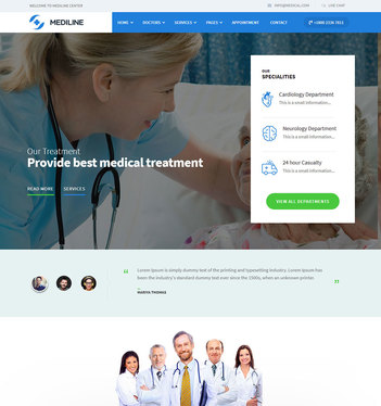 design a website for your healthcare business