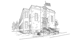 I will draw architecture building or house by handmade sketches
