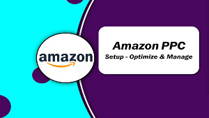 I will setup and manage amazon PPC campaigns ads sponsored
