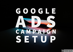 I will setup a google ads campaign for you