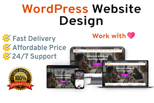 I will Create, customize, design and fix issues on WordPress website