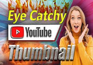 I will design 2 eye catchy and professional thumbnails, banner, cover