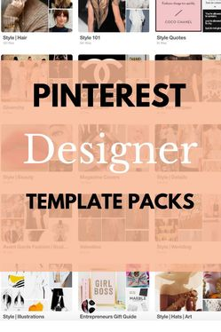 design 5 pins for your Pinterest