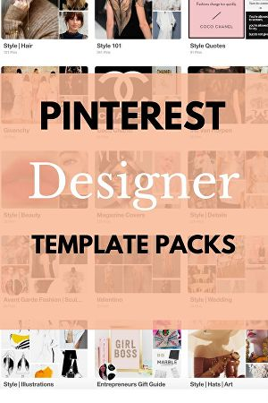 I will design 5 pins for your Pinterest
