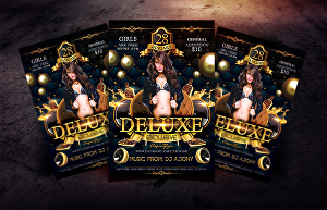 I will Design Luxury Classic Night, Hip Hop,  Club, and Party flyers and Posters