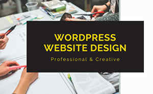 I will Design Website, Create Website, Build Website and Responsive WordPress Website Design
