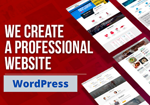 I will create a professional WordPress website, blog, eCommerce store or portfolio web for your b