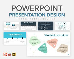 I will create professional power point presentation
