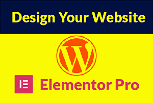 I will design, redesign, clone any website by using elementor pro