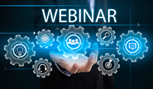 I will set up custom webinar for an online meeting