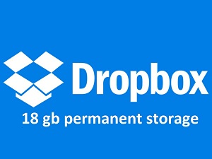 I will increase your dropbox storage upto 18gb for lifetime