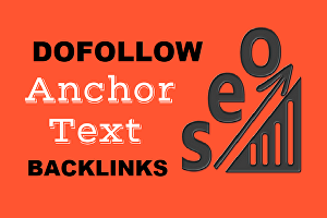 I will provide 30 powerful white hat dofollow anchor text seo backlinks