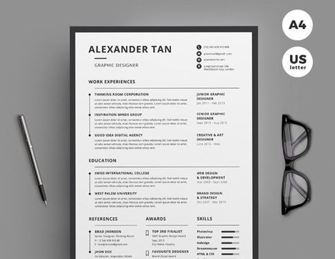 write a professional CV for your career