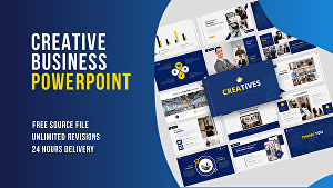 I will create perfect presentation for your business