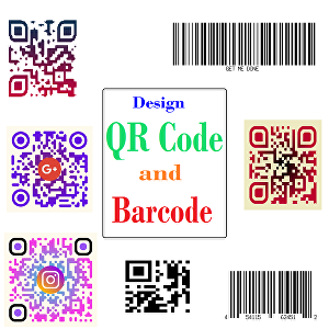 I will design QR Code and Barcode