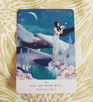 I will pick you an Oracle Card for general life guidance