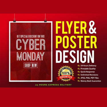 design Professional Creative Business flyer and Poster  within 24 hours