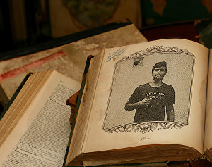 I will add your photo to old book page