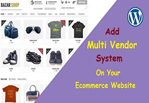 I will Create a WordPress Multi-Vendor eCommerce Website or Store