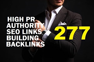 I will Do 277 High pr Authority Link Building SEO Backlinks