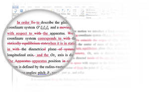 I will proof-read and edit your documents