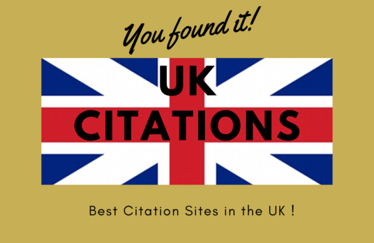 create high quality 100 UK Citations from the Best Citation Sites in the UK