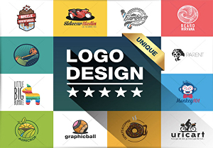 I will design a creative and unique logo for your business or product