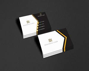 I will create business card for your brand