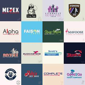 I will Design bespoke Logo with Unlimited Concepts, Revisions and Artwork