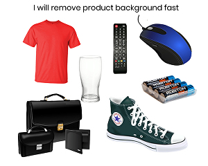 I will remove product background fast
