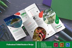I will design an excellent trifold Brochure for you